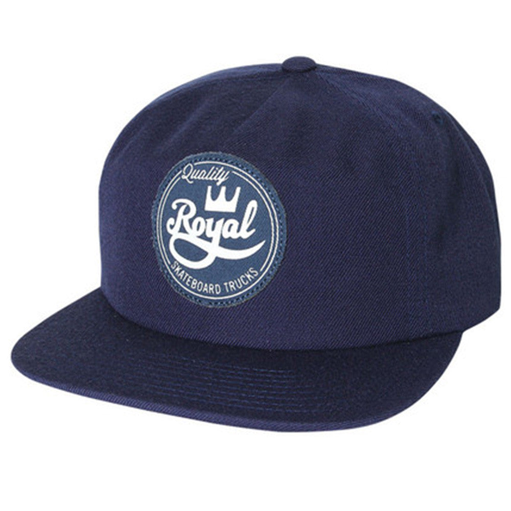 Royal Seal Unstructured Snapback - Navy - Men's Hat
