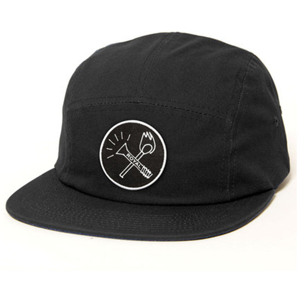 Royal Smoker Camper - Black - Men's Hat