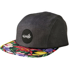 Cliche Wallace Cap Strapback - Black/Floral - Men's Hat