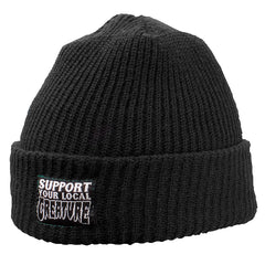 Creature Support Long Shoreman - Black - One Size Fits All - Men's Beanie