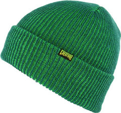 Creature Double Vision Long Shoreman - OS - Hunter/Kelly Green - Men's Beanie