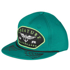Creature Matey - Adjustable Twill Snapback - Forest Green - Men's Hat