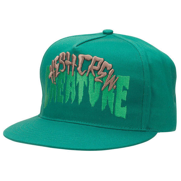 Creature Hesh Crew - Forest - Adjustable Twill Snapback - Men's Hat
