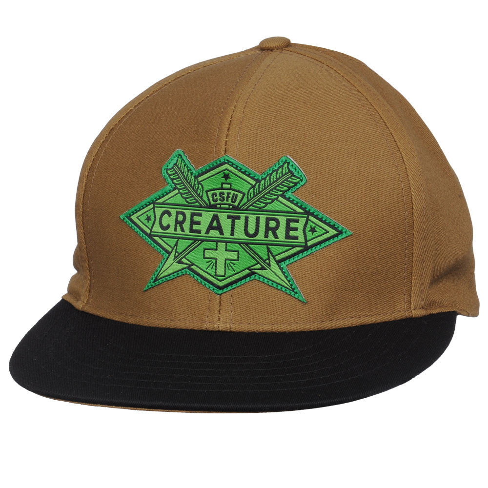 Creature Arrows - Brown - Adjustable Snapback - Men's Hat