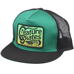 Creature Straight To Hell Trucker Mesh - Kelly/Black - Adjustable - Men's Hat