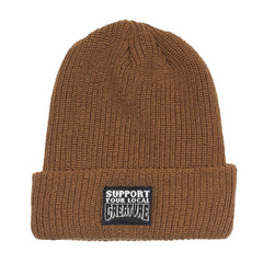 Creature Support Long Shoreman Beanie - OS - Brown  - Men's Beanie