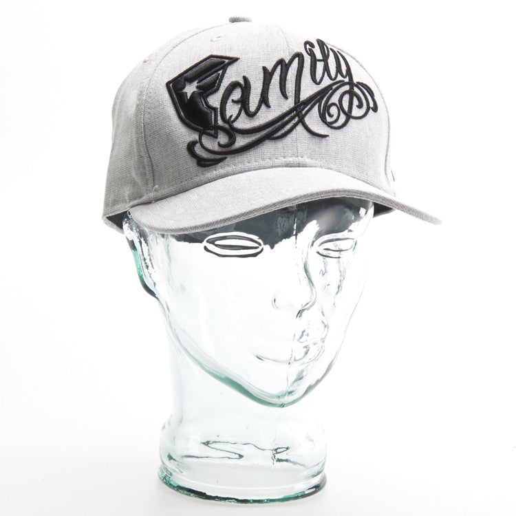 Famous Stars and Straps Family - Stone / Black - Men's Hat