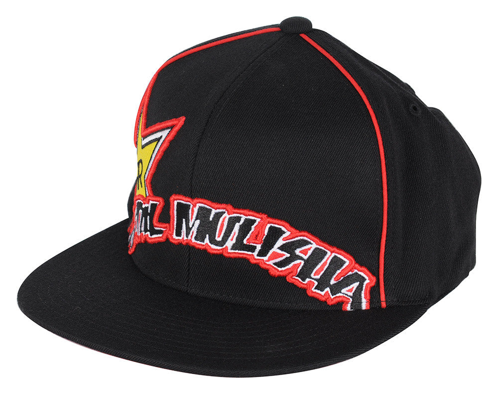 Metal Mulisha Rockstar-Arced - Black/Red - Men's Hat