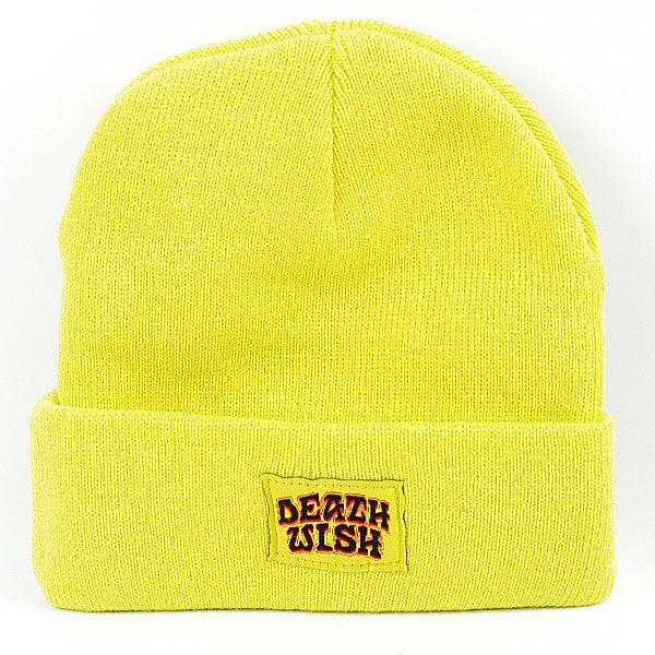 Deathwish Great Death - Yellow - Men's Beanie