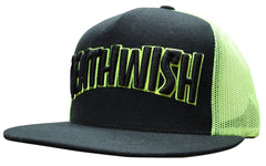 Deathwish Thrash Death Trucker - Black/Neon Green - Men's Hat