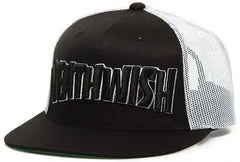 Deathwish Thrash Death Trucker - Black/White - Men's Hat