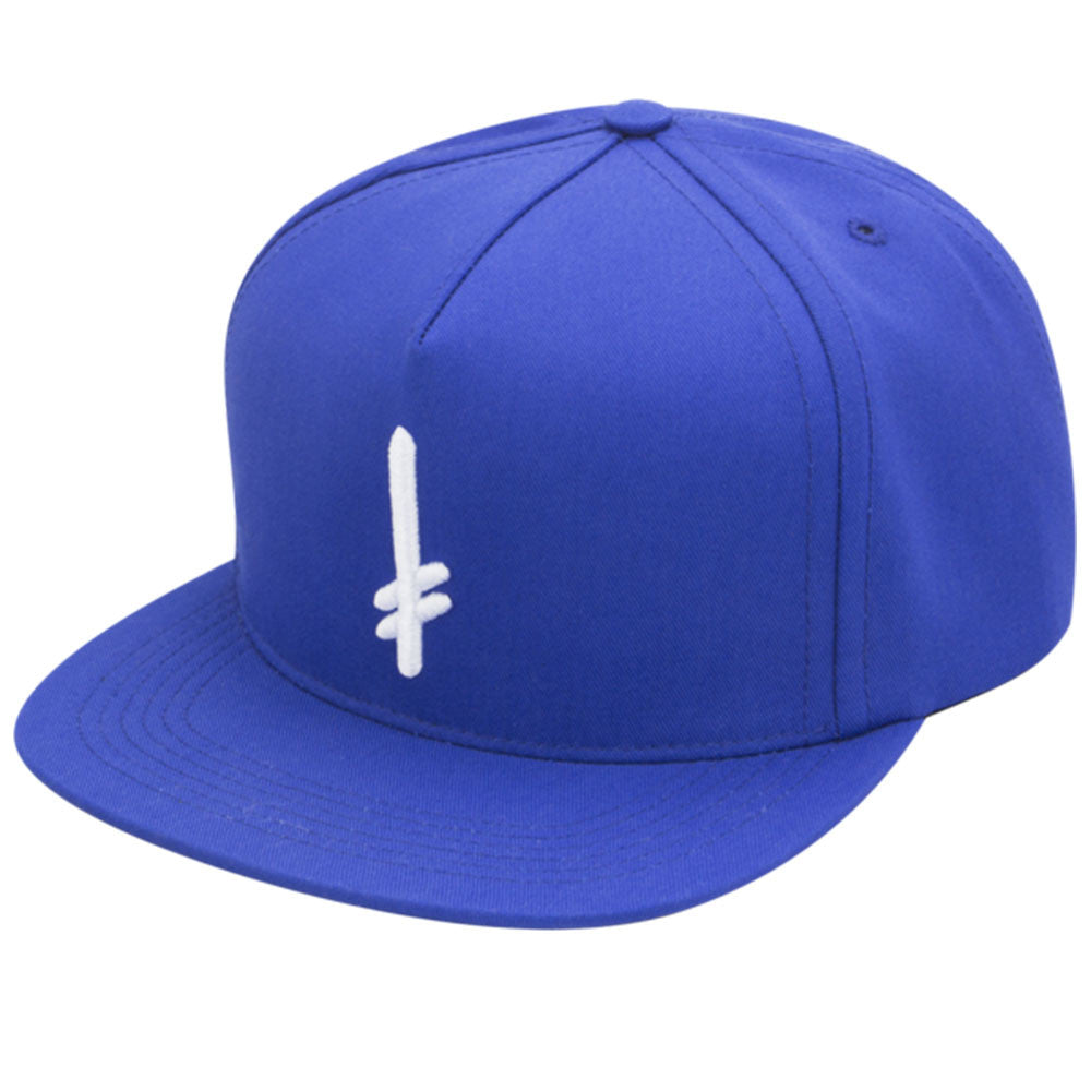 Deathwish Gang Logo Snapback - Blue/White - Men's Hat