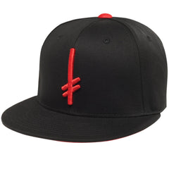 Deathwish Gang Logo Snapback - Black/Red - Men's Hat