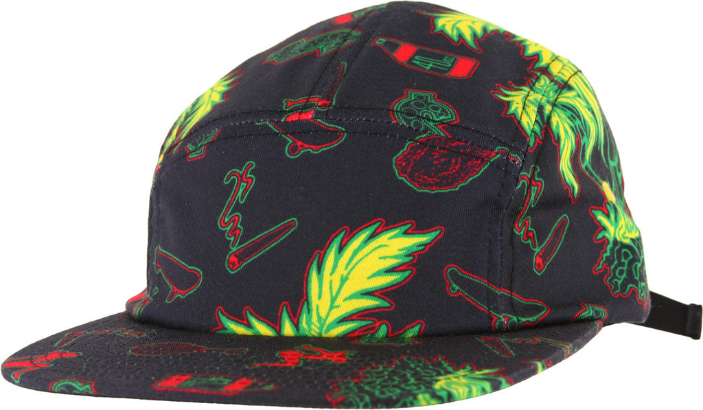Shake Junt Casual Fridays 5 Panel Strapback - Black - Men's Hat