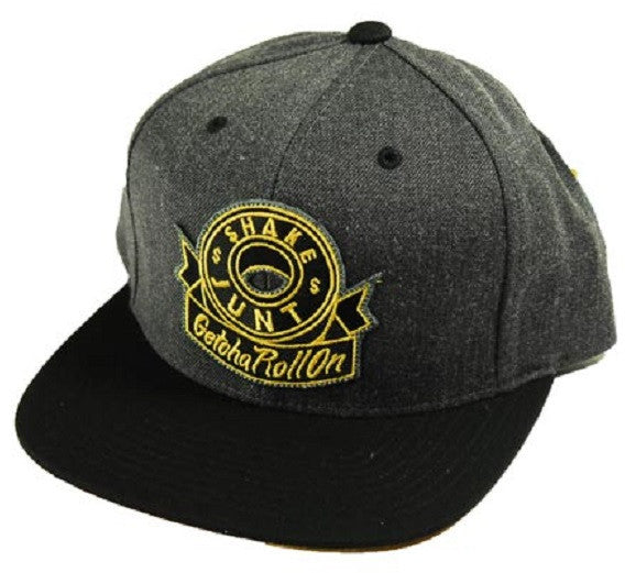 Shake Junt Getcha Roll On Starter Cap - Black/Charcoal - Men's Hat