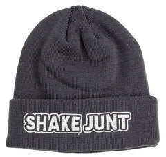 Shake Junt Stretch Logo - Charcoal - Men's Beanie