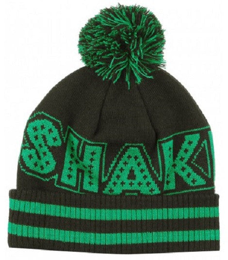 Shake Junt Mainline Ball - Black/Green - Men's Beanie