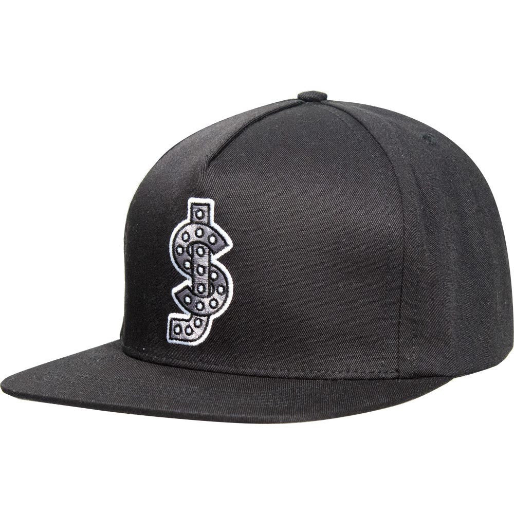 Shake Junt Classic Snapback - Black/Grey - Men's Hat