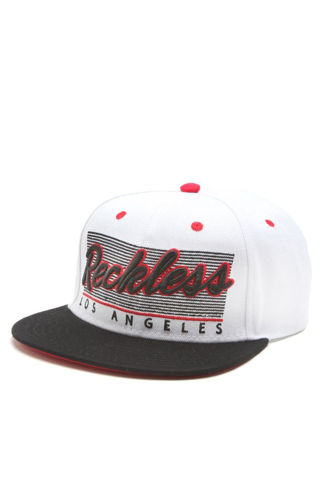 Young and Reckless Vintage Reckless Snapback - White - Men's Hat