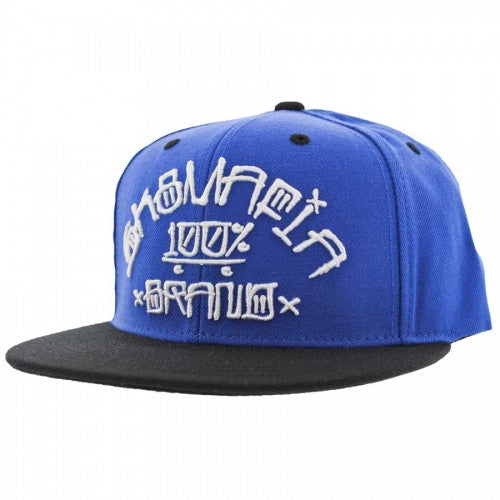 Sk8mafia 100% Por Vida Adjustable Snap - Blue - Men's Hat