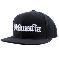 Sk8mafia Old English Adjustable Snap - Black- Men's Hat