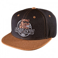 Sk8mafia Cali Soul Adjustable Snap - Brown/Black - Men's Hat
