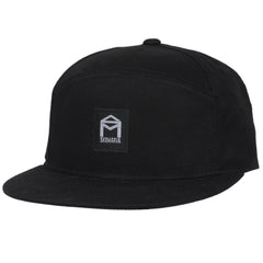 Sk8mafia 6 Panel Snapback - Black - Men's Hat