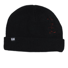 Elm Company The Stitch Beanie - Black - Mens Beanie
