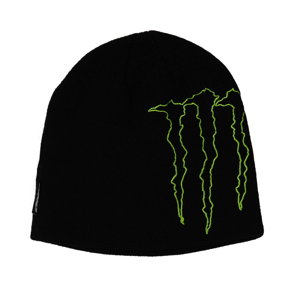 Monster Side Claw Beanie OSFA - Black - Men's Beanie