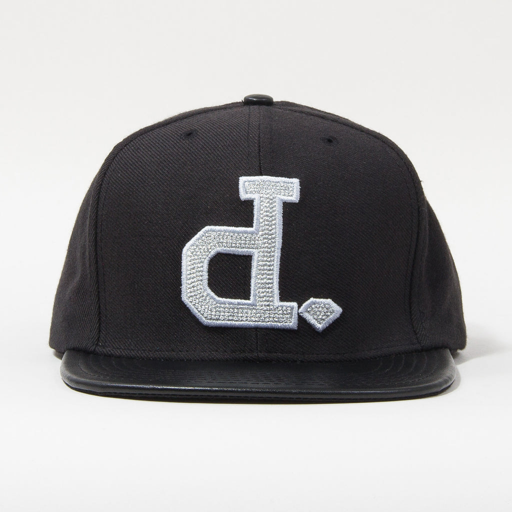 Diamond Ben Baller Un-Polo Snapback - Black/Silver - Men's Hat