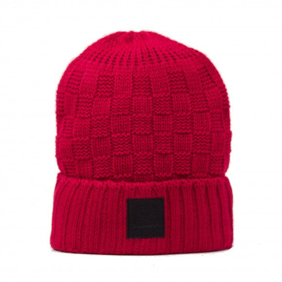 Diamond OG Checker - Red - Men's Beanie