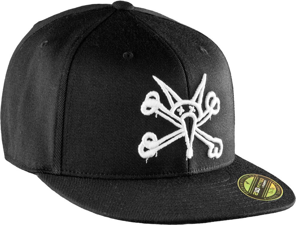 Powell-Peralta Vato Rat Flex-Fit - Black - Men's Hat