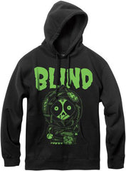 Blind Zombie P/O Hoodie - Youth - Black - Youth Sweatshirt