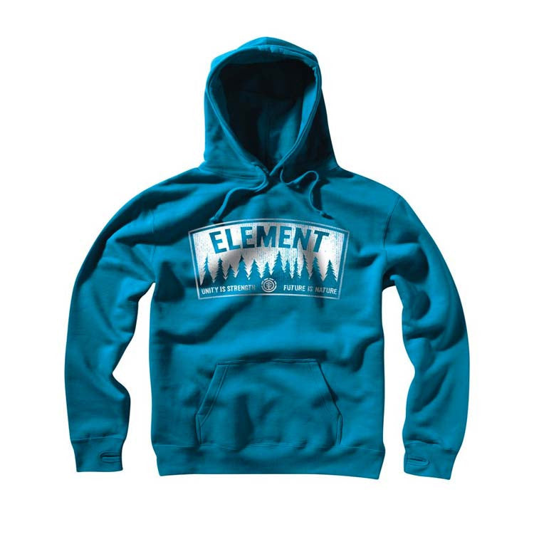 Element Vapid - Men's Sweatshirts - Cyan