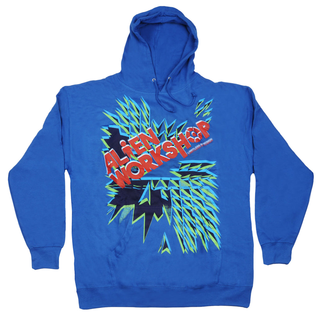 Alien Workshop Dynomo Hoodie Pullover - Royal - Mens Sweatshirt