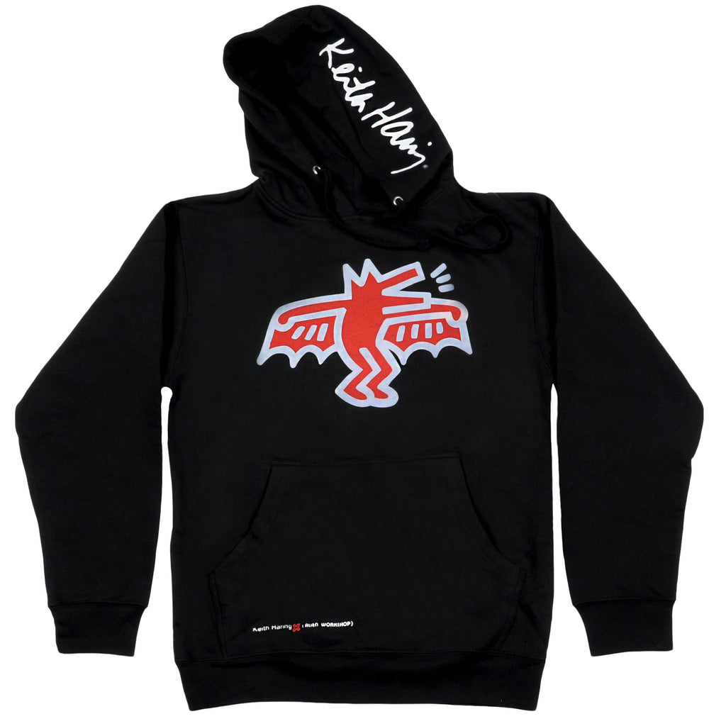 Alien Workshop Haring Devil - Black - Men's Sweatshirt