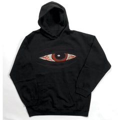 Toy Machine Bloodshot Hood - Black - Men's Sweatshirt