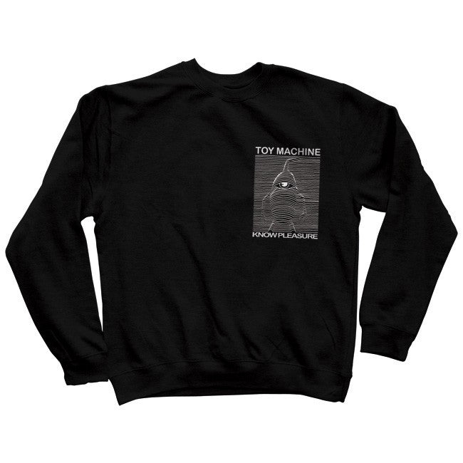 Toy Machine Toy Division Crew - Black - Men's Sweatshirt