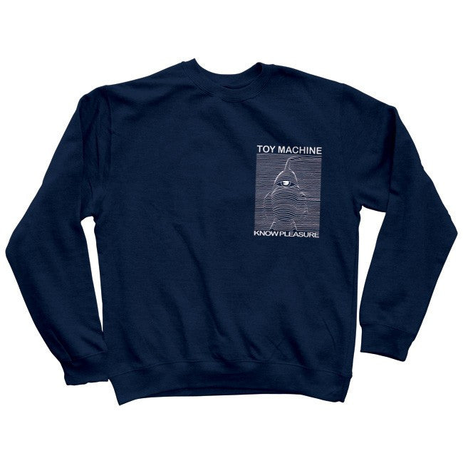 Toy Machine Toy Division Crew - Navy - Men's Sweatshirt