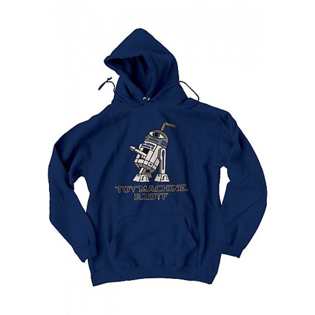 Toy Machine R2DTF Pullover Hoodie - Navy - Men's Sweatshirt
