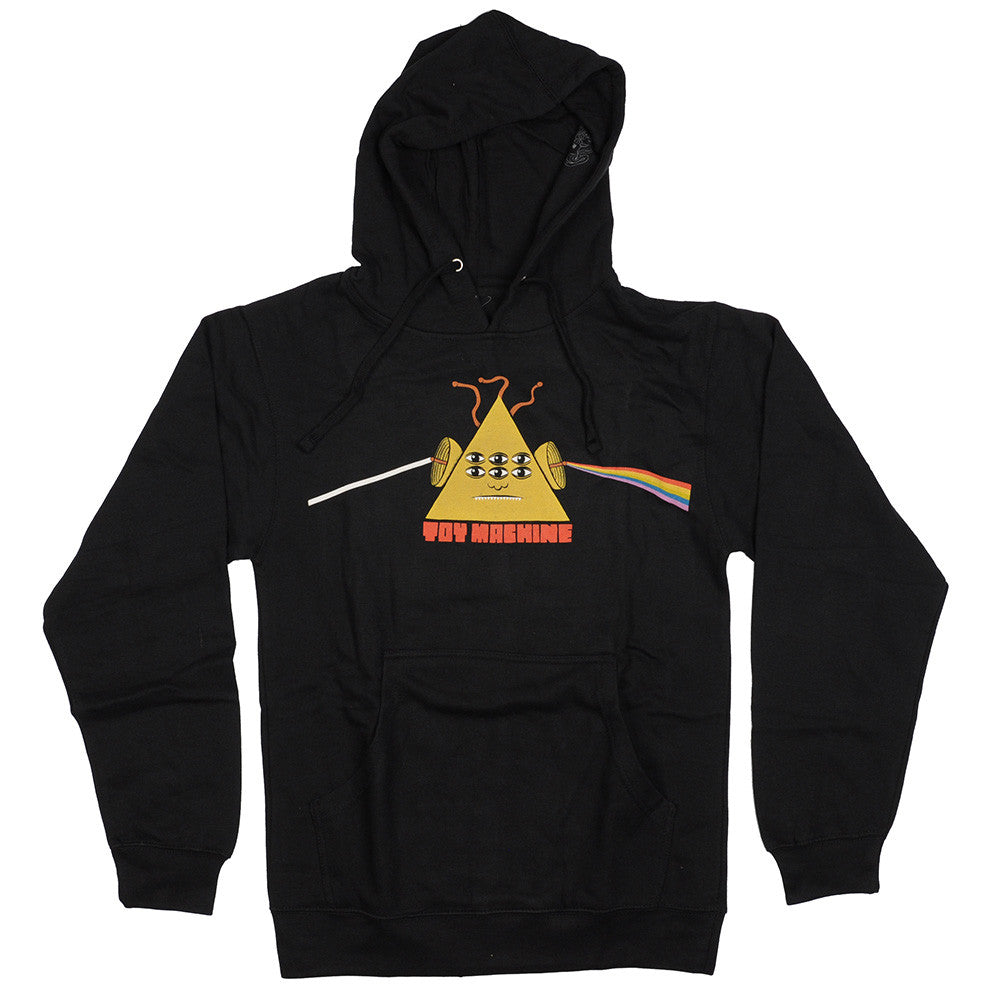 Toy Machine Darkside Hooded - Black - Men's Sweatshirt