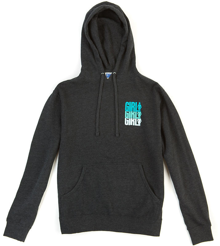 Girl Triple OG Pullover - Charcoal - Men's Sweatshirt