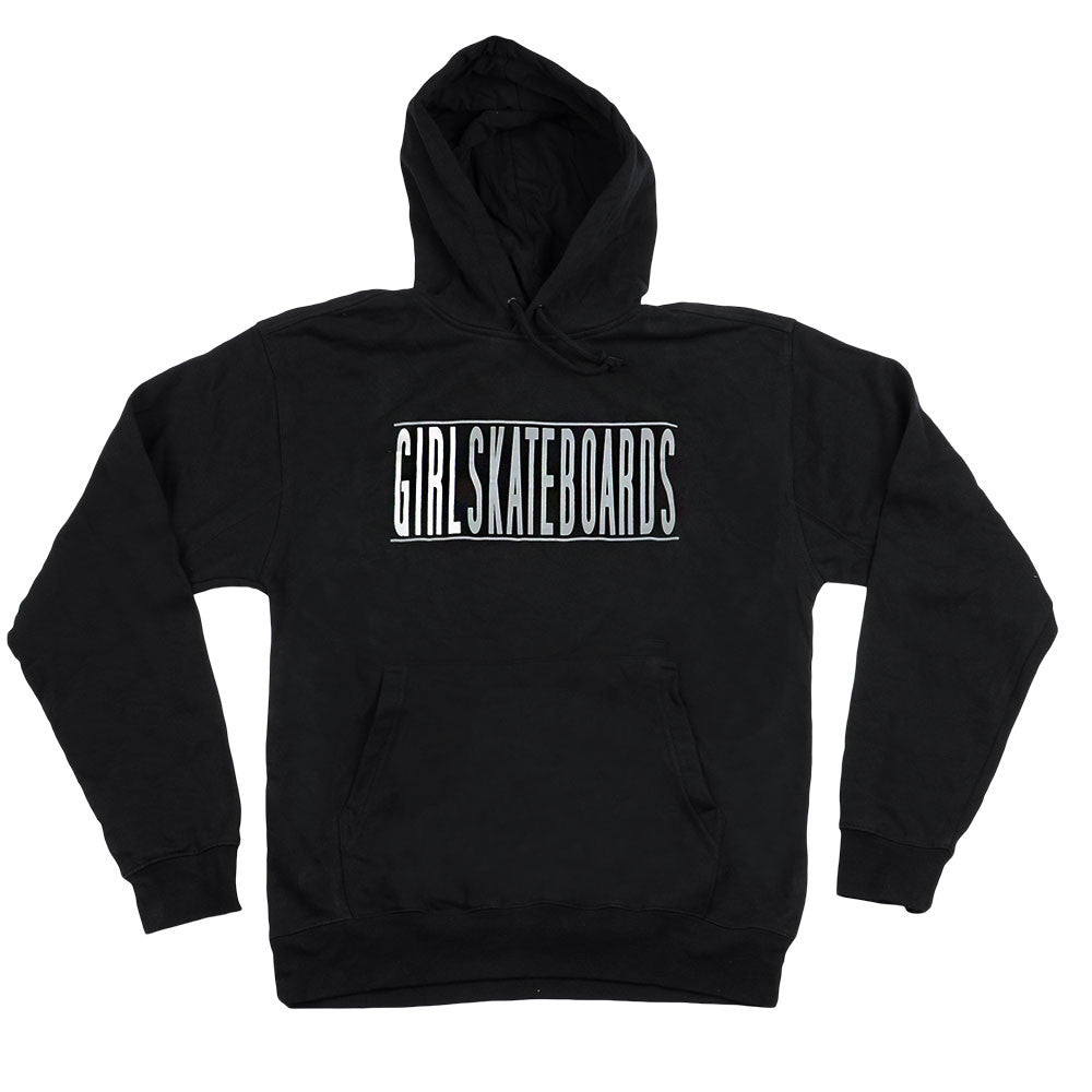 Girl Bars Pullover - Black/Silver - Men's Sweatshirt