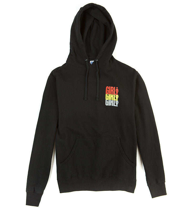 Girl Triple OG Pullover - Black - Men's Sweatshirt