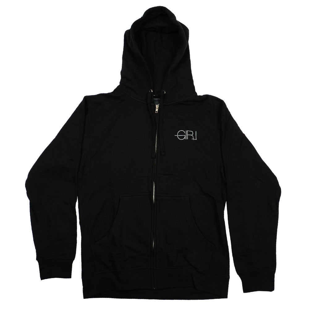 Girl Modern Zip Hoodie - Black - Men's Sweatshirt