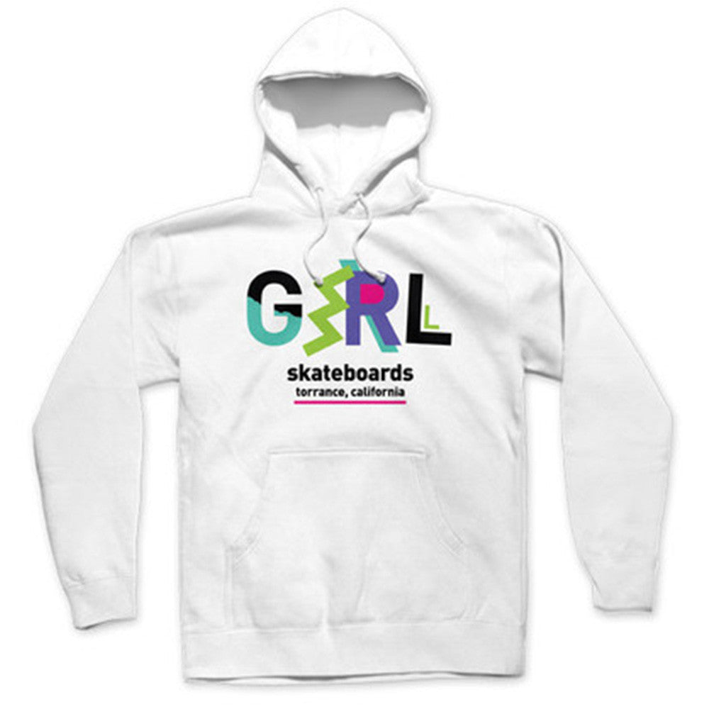Girl Ziggy P/O Hooded - White - Men's Sweatshirt