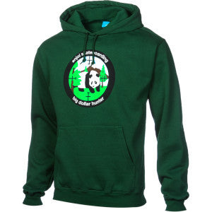 Enjoi Big Dollar Hunter P/O Hood - Dark Green - Sweatshirt