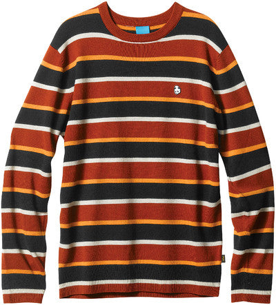 Enjoi S/B Life Sweeter Sweater - Orange - Men's Sweatshirt