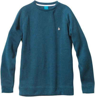 Enjoi Slightly Special Crew - Turquoise Heather - Men's Sweatshirt