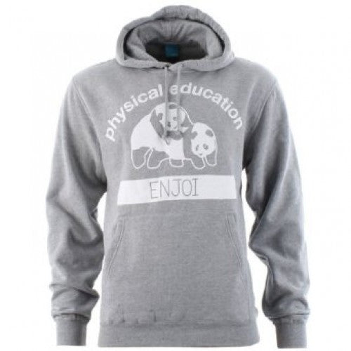 Enjoi P.E. Pullover Hoodie - Gunmetal/Heather - Men's Sweatshirt